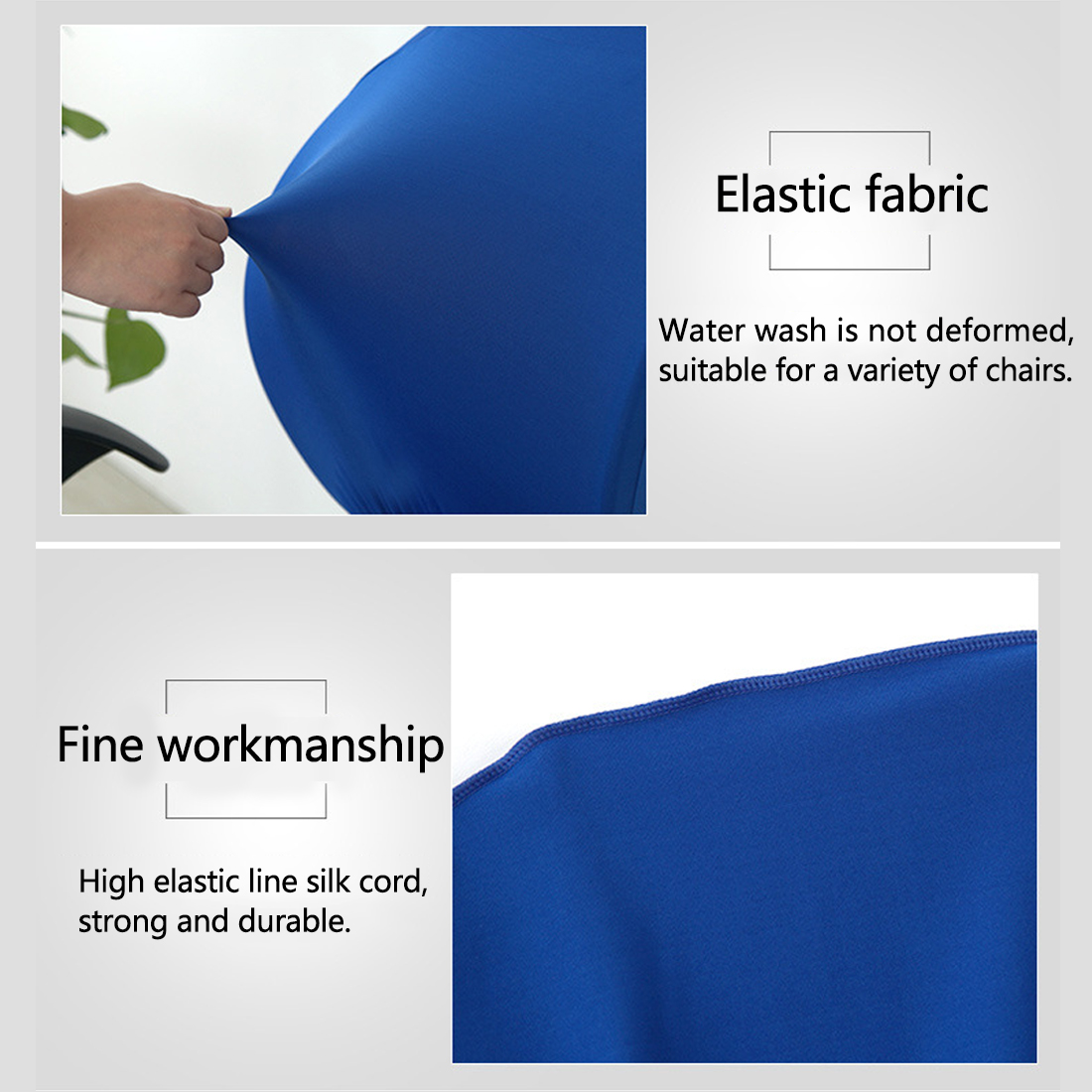 Elastic Chair Covers Made with Polyester Material For Office and Computer Chair in Universal Size 8