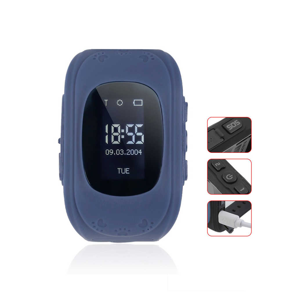 Q50 Smart Watch Kids SmartWatches Anti-Lost Smart Wrist for Children SOS Call Location Finder Locato Tracker Without GPS