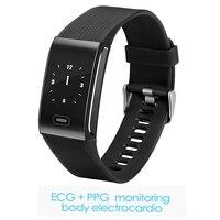 Kuddly CK18 ECG smart bracelet blood pressure measurement smart band 2018 heart rate smartband smart watch orologi