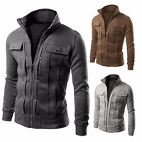 Brand 2018 Men Fashion Tracksuit Male Sweatshirt Cardigan Multi Button Hoodies Mens Purpose Tour 4XL Undertale