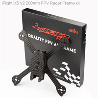 Orginal iFlight iX5 V2 200mm carbon fiber with 28mm M3 Standoff/camera side plate FPV Racer frame kitfor FPV Racing Drone kit