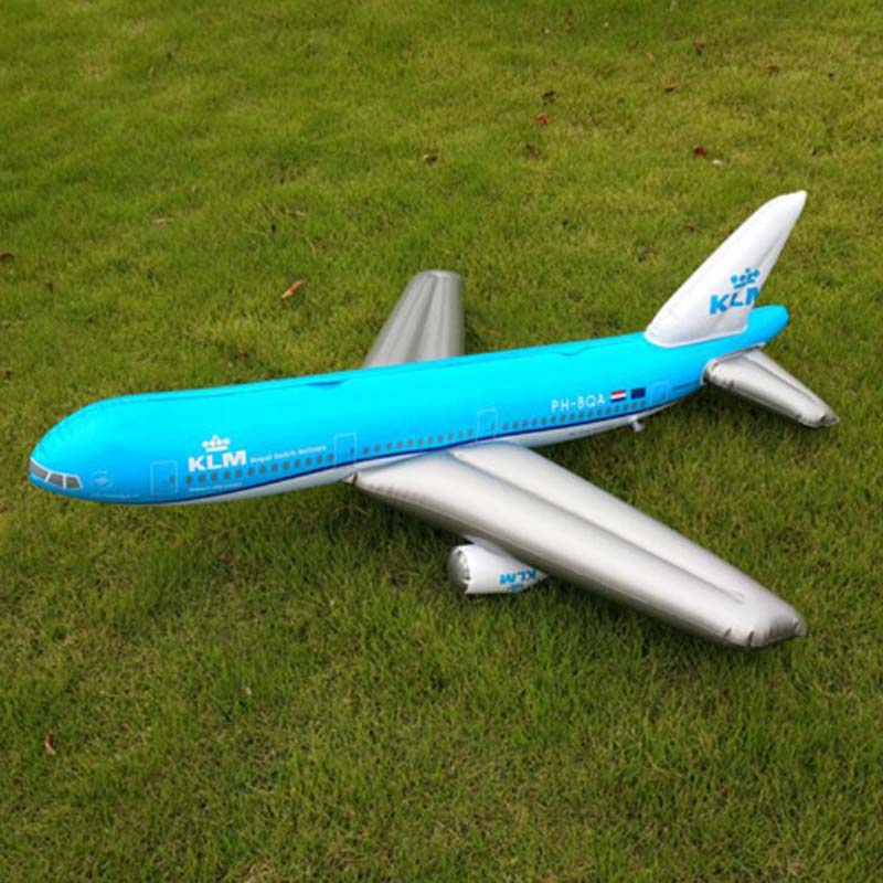 Avion gonflable jouet afficher scène props simulation passagers des avions de chasse modèle enfants D'anniversaire Décoration Jouets 107*97 cm