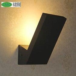 Eenvoudige Mode Volledige Aluminium Wandlamp 8 W Led Geïntegreerde Moderne/Hedendaagse IP65 Waterdicht Licht Wandkandelaars Wandlamp