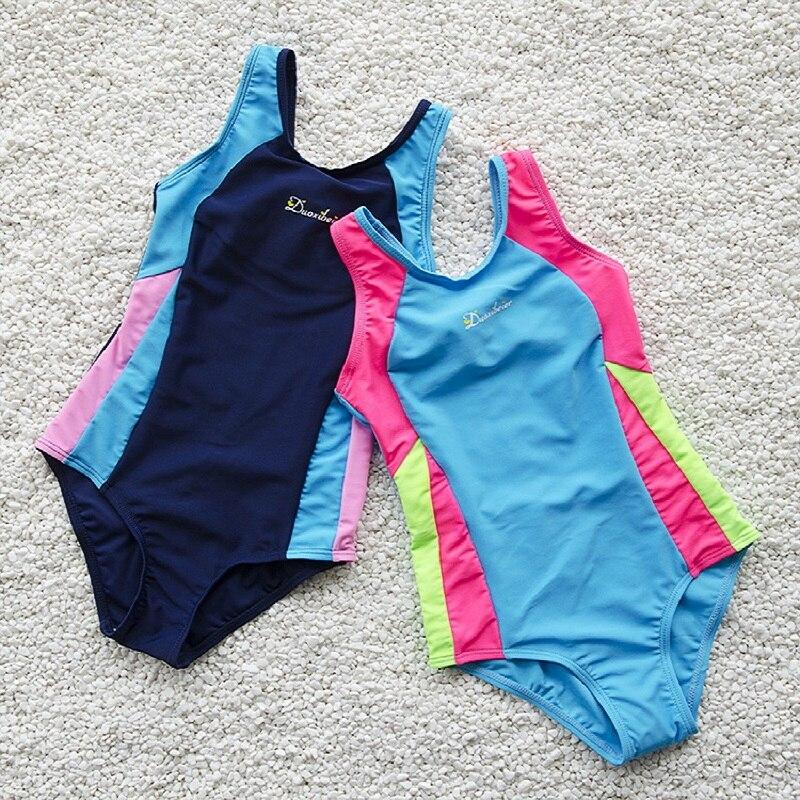 Bikini 2019 Swimwear Kids Girls Swimsuit One Piece Swimsuit Beach Dress Bathing Suit Girls Clothes Swimming Wear Cover-ups