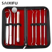 8 шт/компл набор инструментов для профессиональной стоматологической