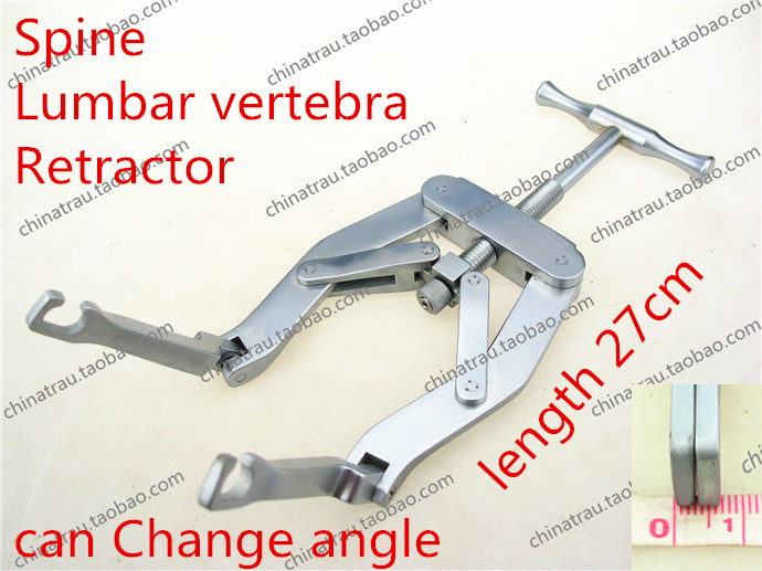 medical orthopedic instrument Spine Lumbar vertebra Retractor Change angle Distraction forceps Opener distractor Pliers tool medical orthopedic instrument spine cervical vertebra distraction screw screwdriver distractor holder handle minimally invasive
