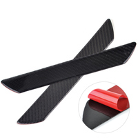 2x Universal Car Styling Carbon Fiber Car Scuff Plate Door Sill Protect Trim Panel Cover Protect