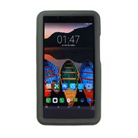 Custmom Silicone Protective Case With Built In Hand Strap For Lenovo Tab 3 7 Plus TB