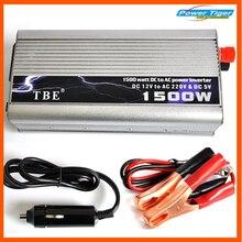 цена на TBE 1500watt 1500W Modified Sine Wave USB Power Inverter Car Boat DC 12V To AC 220-240V Converter Auto Adapter