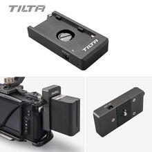Tilta F970 Placa de batería 12V 7,4 V puerto de salida con 1/4 20 orificios de montaje hechos de aluminio