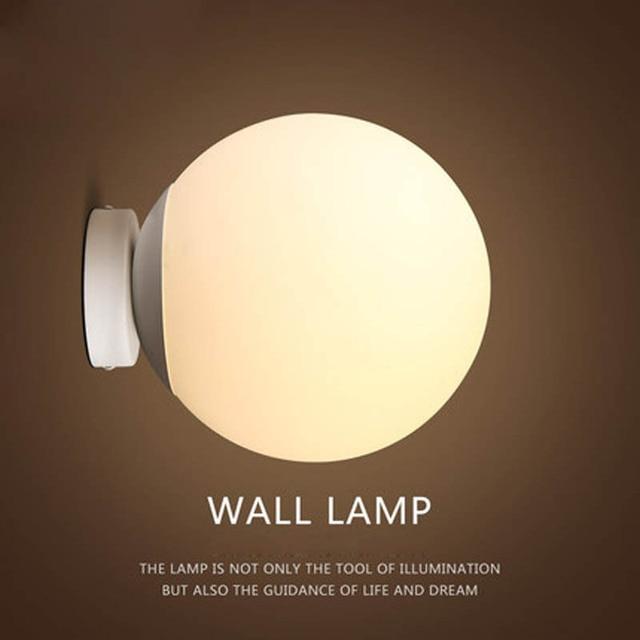 Moderne br ve personnellement Loft American Vintage boule de verre de fer led applique murale lampe.jpg 640x640 5 Unique Applique Murale Boule Verre Ojr7