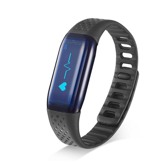 Original Lifesense Wristband Mambo Hr Heart Rate Monitor Smart Bracelet For Android Ios Pometer Fitness Tracker In Wristbands From