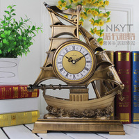 16 Inches Table Clocks The Sitting Room European style Clock Rural Contracted Fashion Clock Home Decor Watch