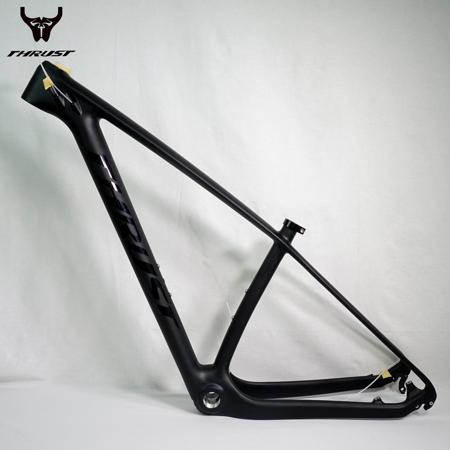 THRUST Chinese Carbon Frame 29er Carbon Mountain Bike Frame mtb 15 17 19 BOB Black China Carbon MTB Frame Free Shipping free shipping car refitting dvd frame dvd panel dash kit fascia radio frame audio frame for 2012 kia k3 2din chinese ca1016
