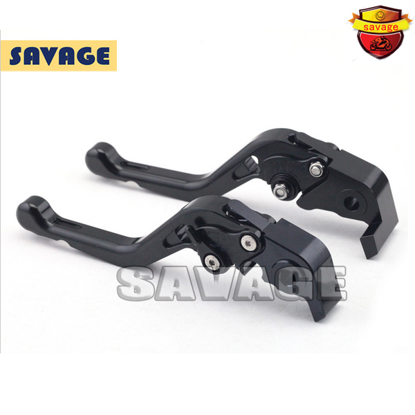 ФОТО For DUCATI HYPERMOTARD 1100 /S/EVO 2007-2012 Black Motorcycle Accessories CNC Aluminum Short Brake Clutch Levers
