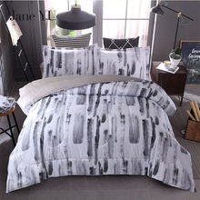 JaneYU Ink painter spinning quilt 3 pieces Quilt+2pcs pillowcase