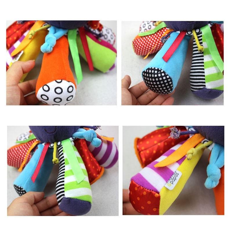 Baby Rattle ութոտնուկի խաղալիքների - Խաղալիքներ նորածինների համար - Լուսանկար 6