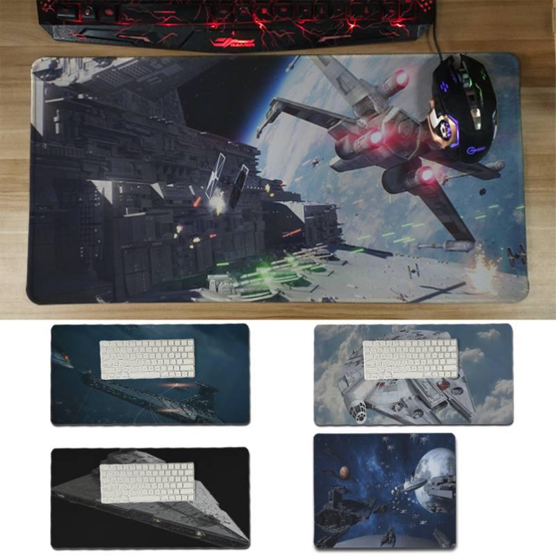 Yinuoda limited Звездные войны космический корабль и истребитель ноутбука коврик Размеры для 30x60 см и 30x60 см игровые коврики