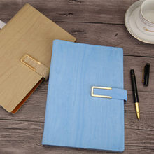 A5 Loose-leaf Notebook Imitation Leather PU Business Stationery Notebook Conference Record Book(China)