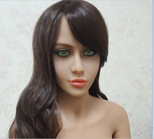 #81 silicone doll head mold for big size love doll 135cm-170cm body, realistic doll accessories