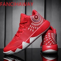 FANCIHAWAY Breathable basketball shoes Men Non slip Basketball Sneakers Women Kids Zapatillas De Baloncesto Outdoor Mens shoes