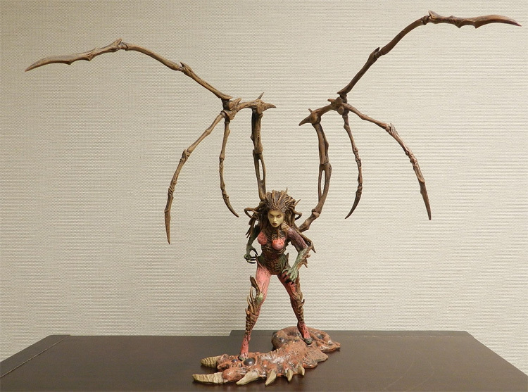 12 Famous Online Game Character Queen Of Blades Kerrigan Action Figure model Sarah Kerri ...