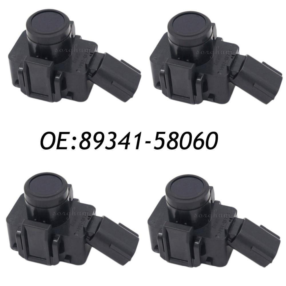 Parking Sensors 4pcs 89341-58060 Pdc Parking Sensor Original Sensor For Toyota 188400-3210