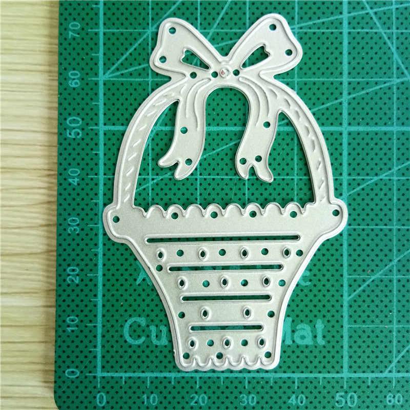 Bi fujian Lente Boog Mand 2019 METALEN STANSMESSEN DIY Plakboek CRAFT card album gift present mes mold kunst cutter