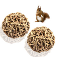 Pet Supplies Hamster Rabbit Toys Ball Guinea Pig Grass For Rodents for Dental Cleaning