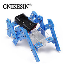 CNIKESIN DIY Six Legged Robot Kit Hand Model Assembled DIY Science and Technology Teaching Materials Develop Intelligence 2 colo(China)