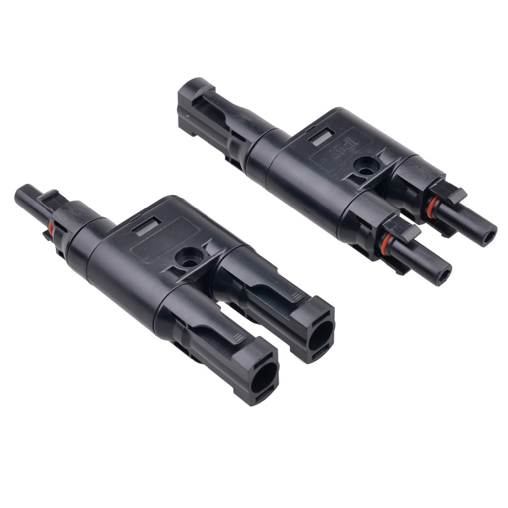 5 Pairs MC4 Solar Panel Cable Connector H Type Male to Female MC4 Coupler Combiner IP67 Connectors rp sma female to y type 2x ip 9 ms156 male splitter combiner cable pigtail rg316 one sma point 2 ms156 connector for lte yota