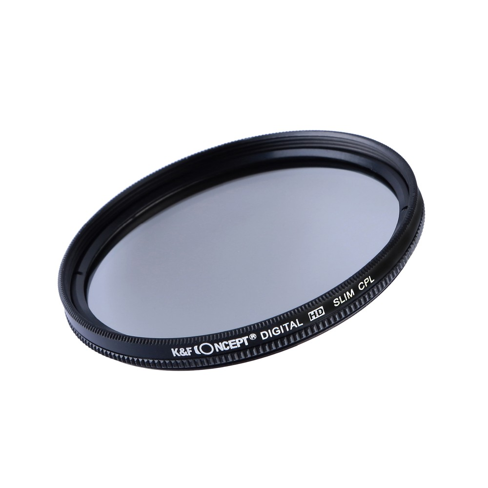 K&F CONCEPT UV+CPL+FLD+ND4 Neutral Density Camera Lens Filter Kit+Bag+Lens Hood Cap+Cleaning Cloth For Canon/Nikon/Sony DSLR 4