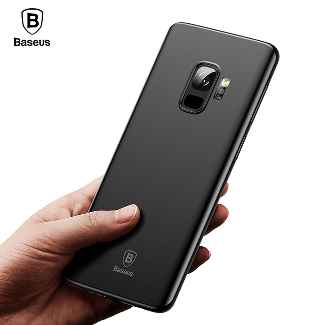 Baseus Samsung Galaxy S9 S9 Plus Ultra Thin PP Frosted Super Slim Soft Back Case Cover