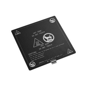 Image 3 - Aibecy Aluminium 12V Broeinest 220*220*3Mm Verwarmde Bed Met Draad Kabel Heatbed Platform Kit Voor anet A8 A6 3D Printer Onderdelen