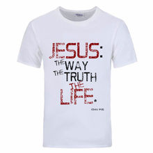 Cheap Price Rude T Shirts Youth Jesus is the Truth Mens Plus Size 2018  corinthians male bb3a8c0f9e1db