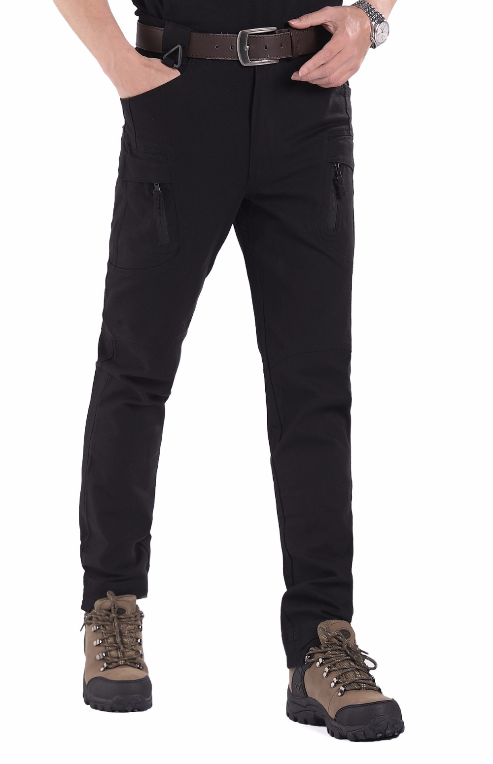 Bene Ix9 (ii) Tattico Militare Pantaloni Cargo Uomini Di Combattimento Swat Esercito Militare Pantaloni Di Cotone Tasche Paintball Abbigliamento Casual Pantaloni