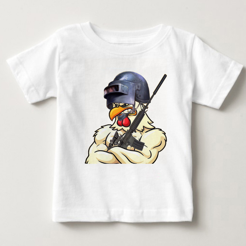 2018 Cotton children T Shirts Clothing Short Graphic Playerunknowns Battlegrounds Pubg O Neck Tees For BOY shirt MJ in T Shirts from Mother Kids