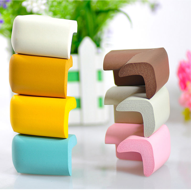 4 Pcs Safety Desk Cover Guard Kids Baby Table Corner Edge Protectors Cushion