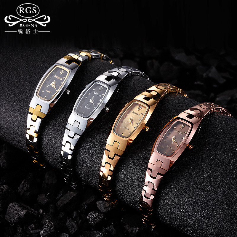 fashion ladies tungsten steel wristwatches quartz square luxury woman watches bracelet diamond waterproof clocks black rose gold woman bracelet watches rose gold disney brand women clocks stainless steel mickey mouse luxury diamond 30m waterproof wristwatch