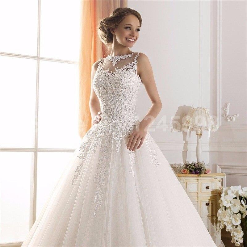 vestido de novia elegante