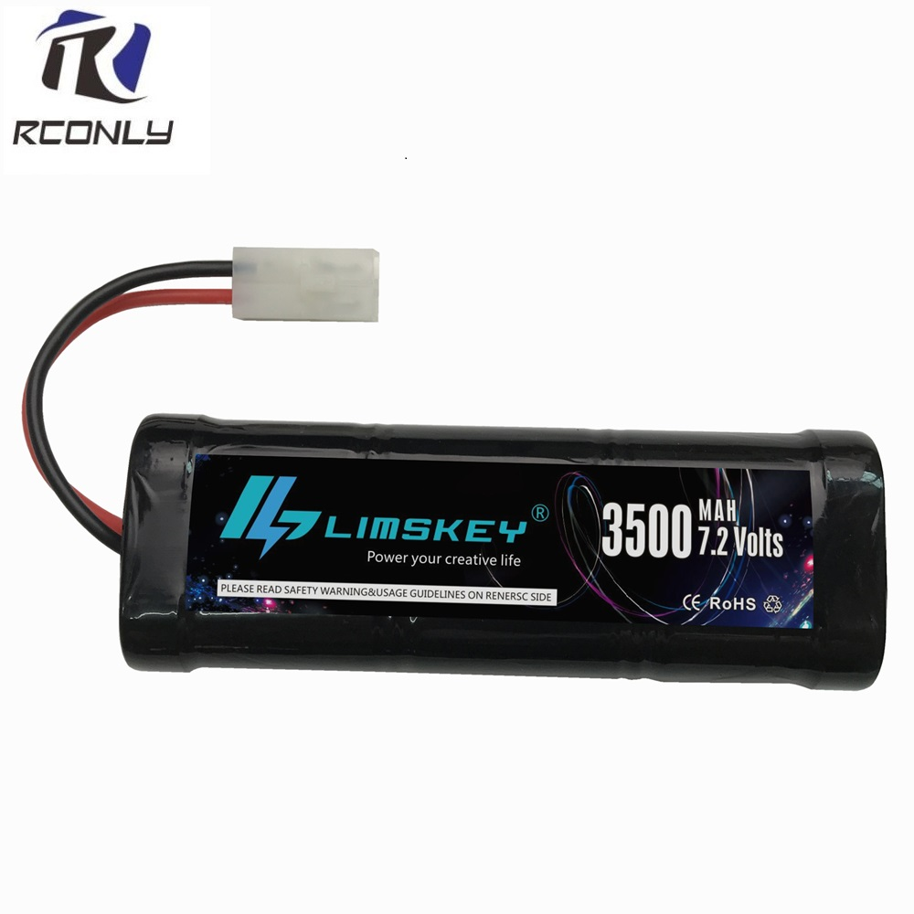 With Tamiya Connectors rechargeable battery pack 3500mah SC batterie 7.2v rc battery Pack 7.2 v for RC Car Truck Buggy boat 6v 2800mah m style high capacity aa ni mh rechargeable battery for electric toys rc car rc truck rc boat jst sm tamiya plug