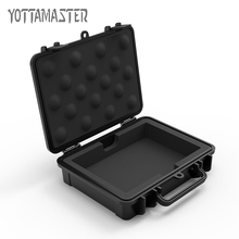 Yottamaster HDD Protection Case 3.5 inch Hard Drive Disk Case Waterproof Shockproof HDD Box Black Safety Lock Design with Label