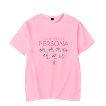 Bangtan7 Map Of The Soul: PERSONA Signature T-shirts (5 Colors)