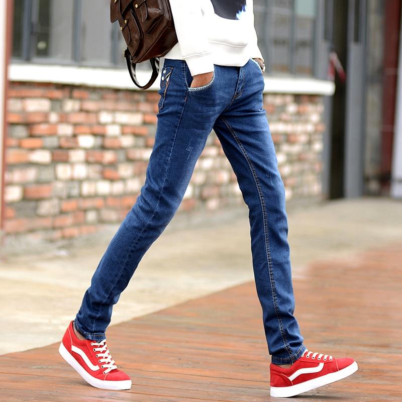 2019 Men's Casual Jeans, Fashion Slim Thin Feet Pants