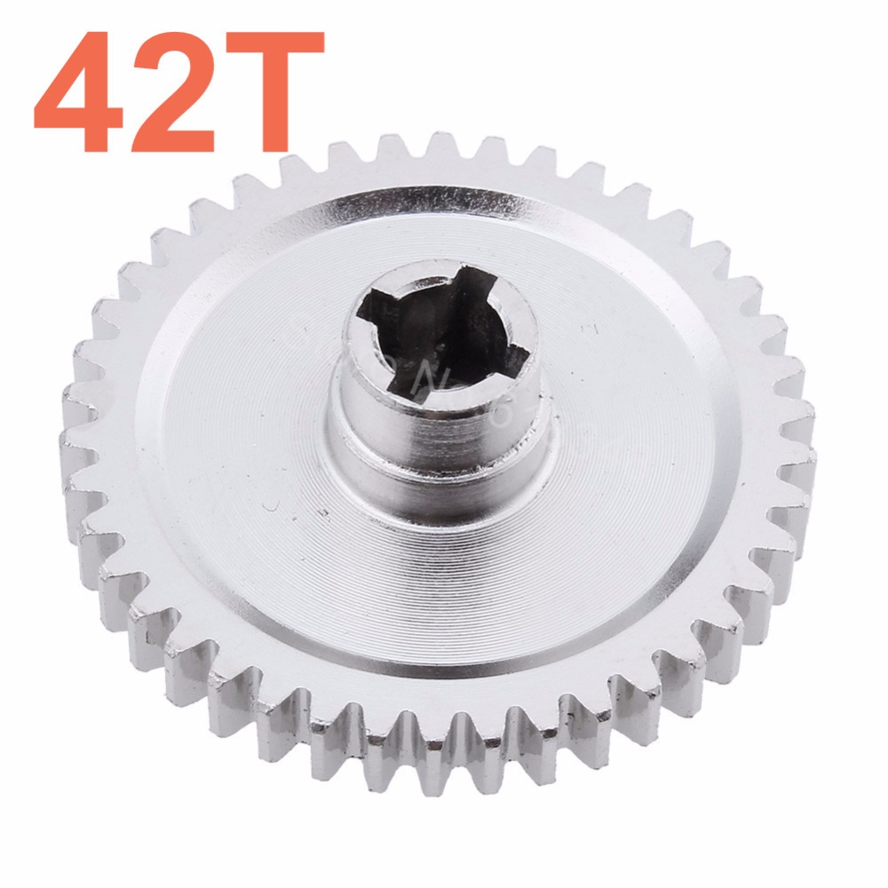 Steel Metal Diff Differential Main Gear 42T For 1/18 WLtoys A959-B A969-B A979-B K929-B RC Car Upgrade Parts wltoys a959 b 13 540 motor 1 18 a959 b a969 b a979 b rc car part