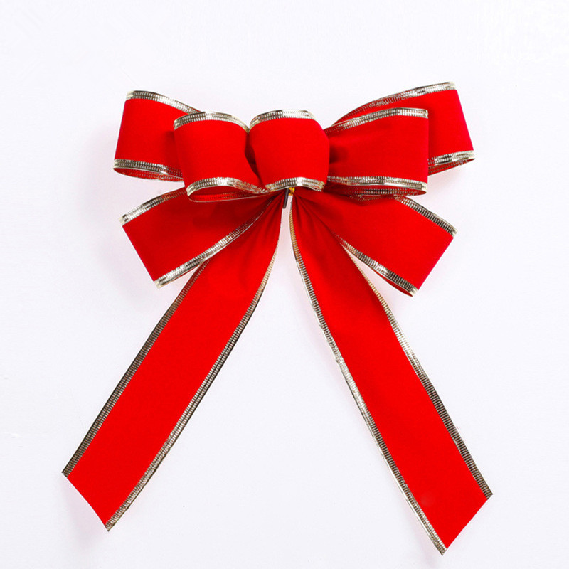Large Bow Christmas Ribbons Bow For Festival Decoration ...