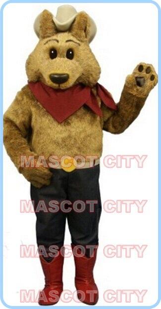 Coyote mascotte costume della mascotte del lupo personalizzato