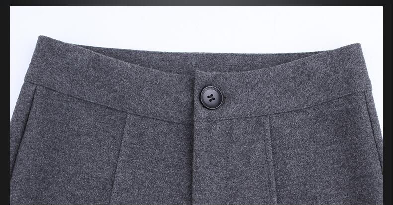 Gray Femmes Hiver Office spring Marque Et Gray 2018 Épais Printemps Grande Taille 79350 Pantalons Pattes Dark Lady winter D'éléphant Vêtements Femme Black Haute Spring gxvqF4dwq