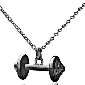 joyer/ía gimnasio culturismo CROSSFIT levantamiento de pesas Pendientes de mancuerna para fitness