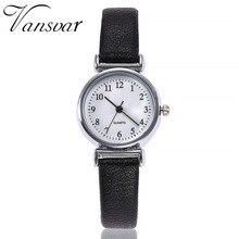 שעוני אופנה נשים רטרו קטן פשוט מקרית שעונים באיכות גבוהה נשים קוורץ שעוני יד relogio feminino שעון מתנה # C